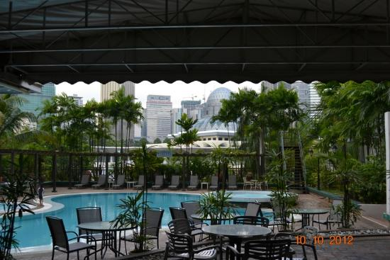 The ZON All Suites Residences: View from Pool Area