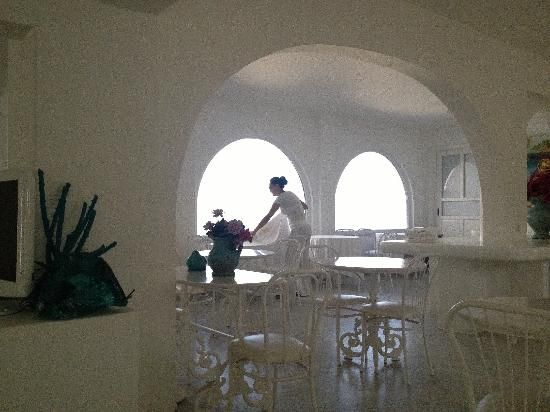 Mykonos Bay Hotel: Restaurant