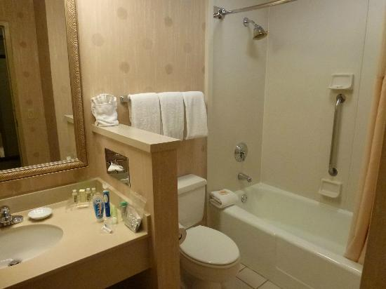 Holiday Inn San Francisco Fishermans Wharf: Well stocked En-Suite.