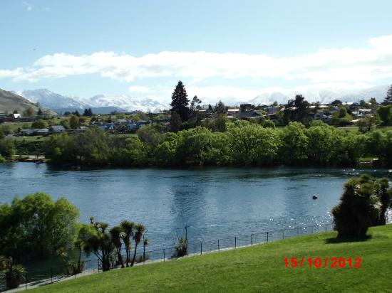 DoubleTree by Hilton Hotel Queenstown: View from room