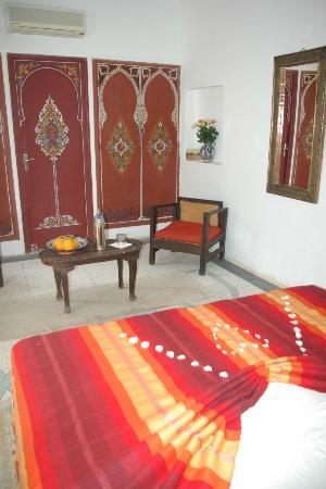 Riad Abaca Badra: chambre Fez