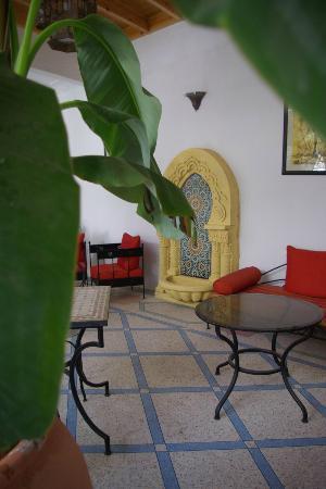 Riad Abaca Badra: salon 1er étage