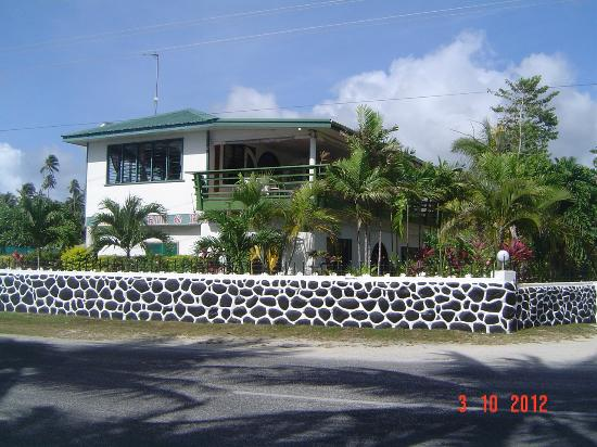 Amoa Resort: Main building