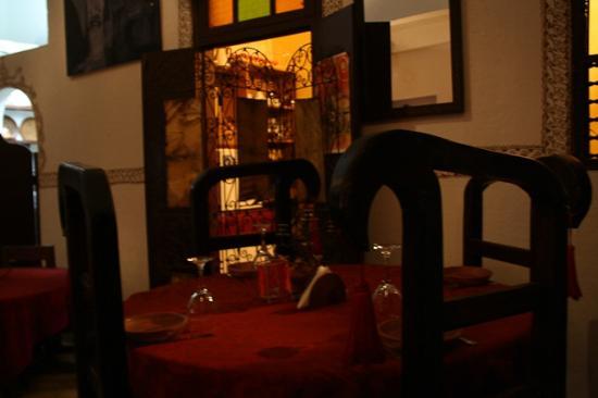 Dar Sultana : il ristorante