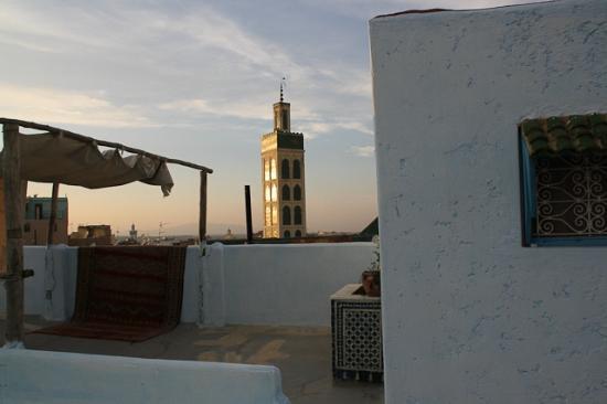 Riad Amazigh Meknes: veduta dalla terrazza