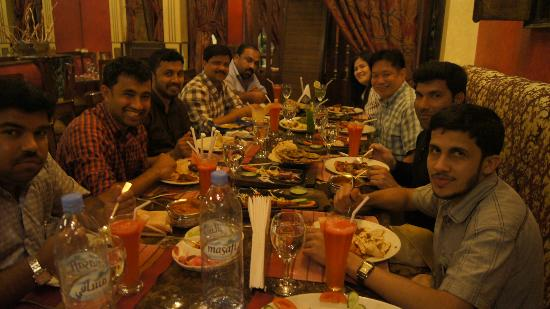 Royal Tandoor: With friends