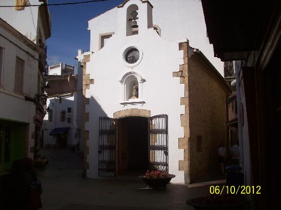 Tossa Center Hotel: small chapel