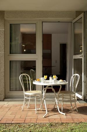 Derag Livinghotel Appartements Johann Wolfgang: Terrace