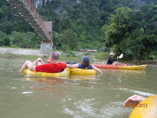VLT Natural Tours: Tubing down the river was absolutely relaxing and, despite media reports, completely safe - as l