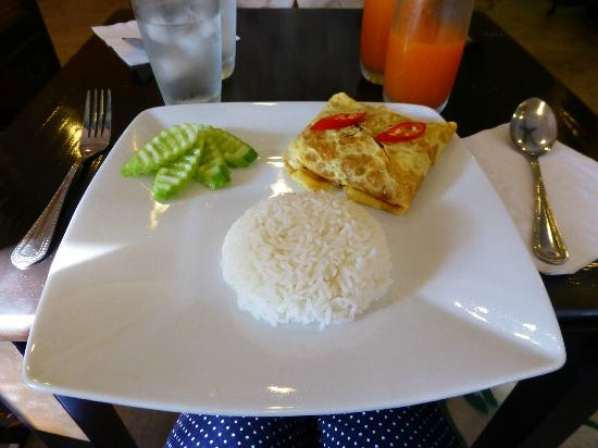 Focal Local Bed and Breakfast: one of our great vegetarian breakfasts
