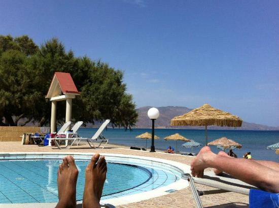 Mesogios Beach: piscine/plage