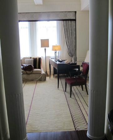 Fairmont Peace Hotel: Signature Suite - Wohnzimmer / Arbeitsbereich