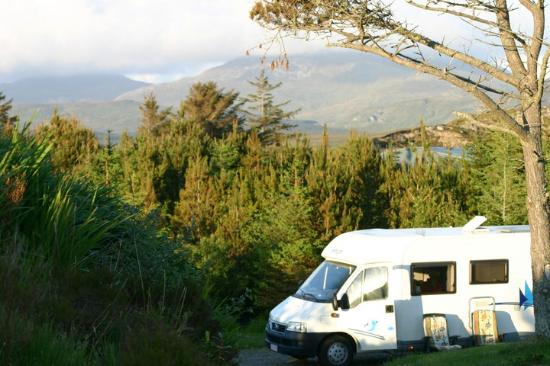 Clifden Camping and Caravan Park: pitches