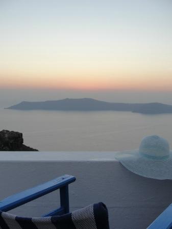 Artemis Villas: Romantic Sunset view from room 116 