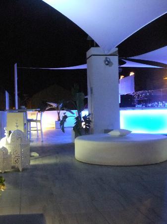 Hotel Playa de la Luz: Dachterasse