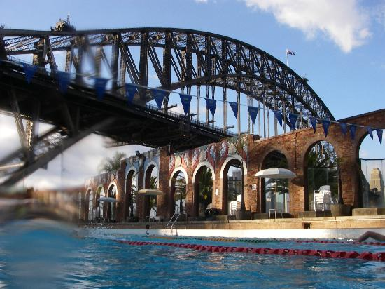 Olympic Pool North Sydney: how good is that view