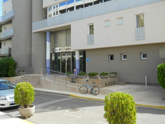 Hotel Mediterraneo : buitenzicht hotel 2