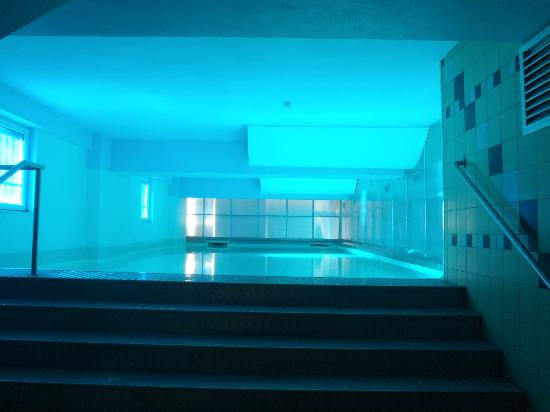 PLUS Prague: Pool Area, perfect for post dinner date...
