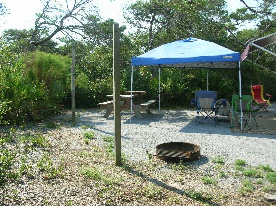 Henderson Beach State Park Campground Campsite