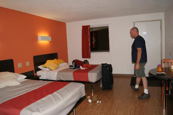 Motel 6 Winchester: room..sorry my son was in the car for 11 hours...he was happy to be out