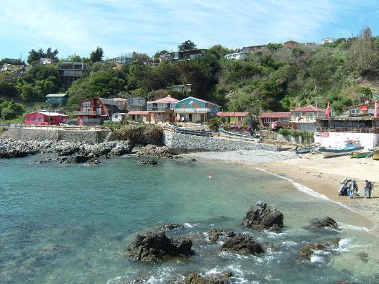 Miramar: Quintay, Hermoso pequeño caserío de pescadores, increíble vista!