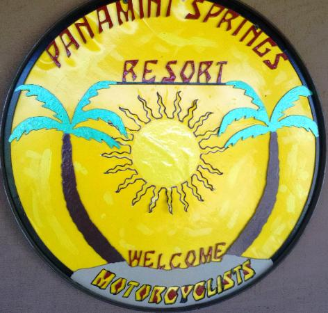 Panamint Springs Resort: Motorcyclist are welcome!