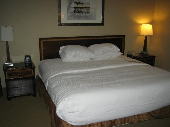 Hilton Winnipeg Airport Suites: bed