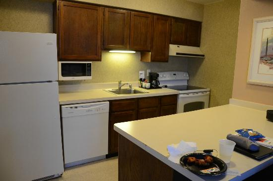 Chase Suite Hotel El Paso: Kitchenette