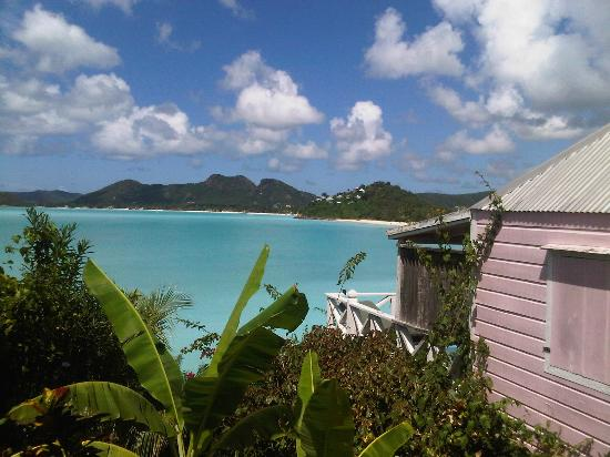Cocobay Resort: View from the path looking to our cottage