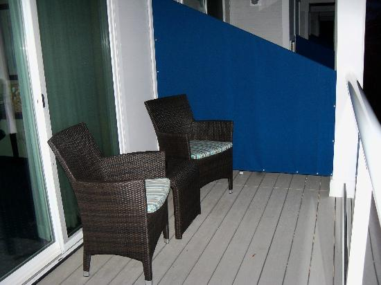 Atlantic Oceanside Hotel and Event Center: deck