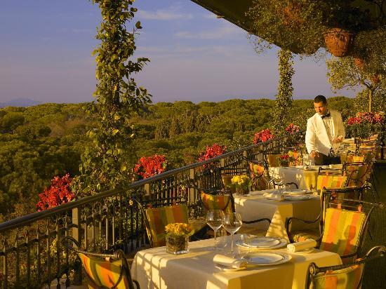 terrazza ristorante Mirabelle - Foto di Mirabelle, Roma - TripAdvisor
