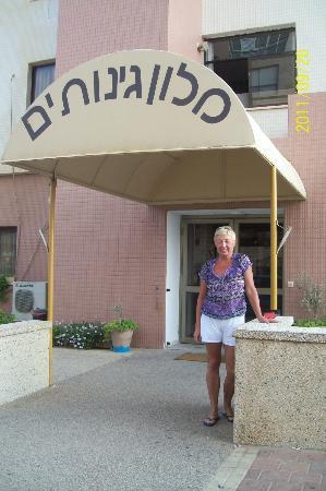 Ginot Yam Hotel: вход в отель