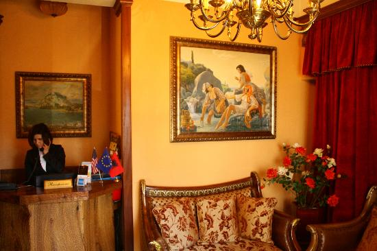 Hotel Brilant Antik: Reception