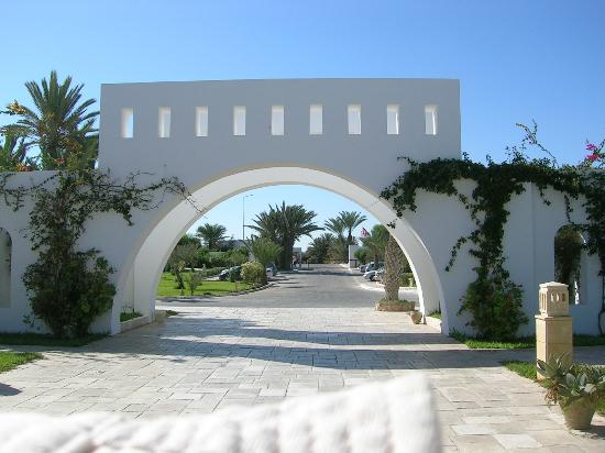 Seabel Rym Beach: Entrée hôtel