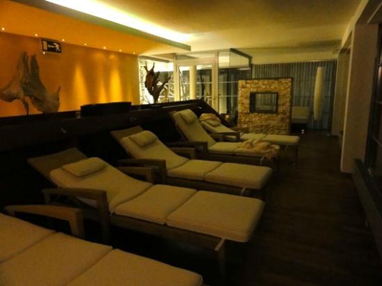 Hotel Goldener Ochs: Wellnessbereich/Ruhezone mit Blick nach draussen