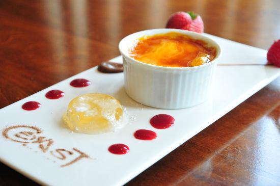 Coast Bar and Brasserie: Dessert of the Month, August 2012 at Coast Brasserie & Bar