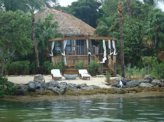 Little Palm Island Resort & Spa, A Noble House Resort: Our suite from the water