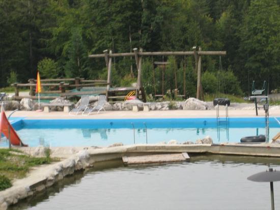Berggasthof Rosengasse: Der Pool