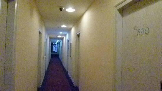 Shanghai Celadon Theme Hotel: 3階廊下