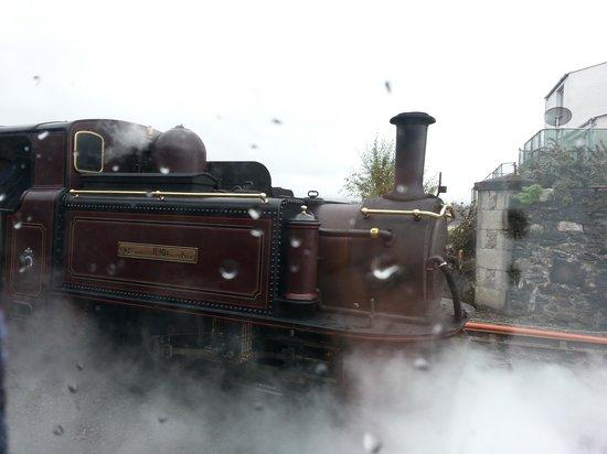 Ffestiniog & Welsh Highland Railways: October 2012