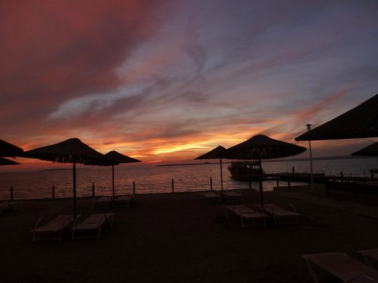 CLC Apollonium Spa & Beach: Fantastic sunsets