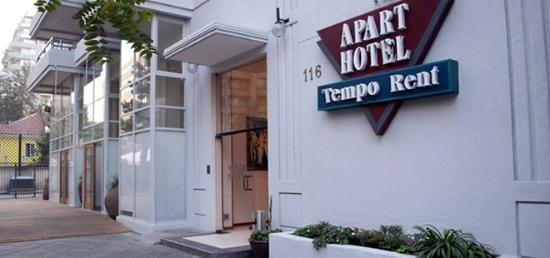 Tempo Rent Apart Hotel: Entrada principal