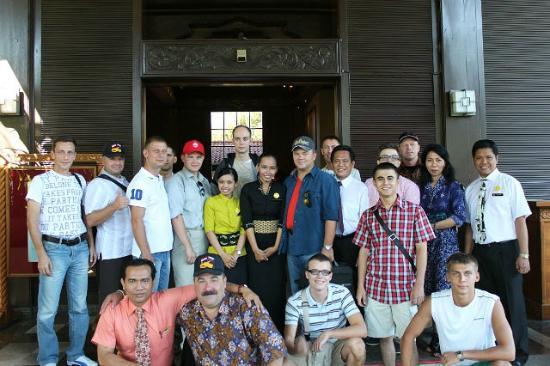 Singgasana Hotel Surabaya: Наш отьезд
