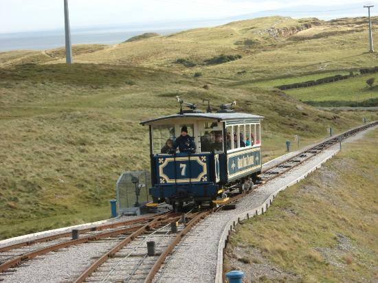 Llandudno, UK: Steep but safe transport