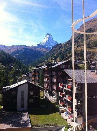 The Matterhorn from Hotel Antika