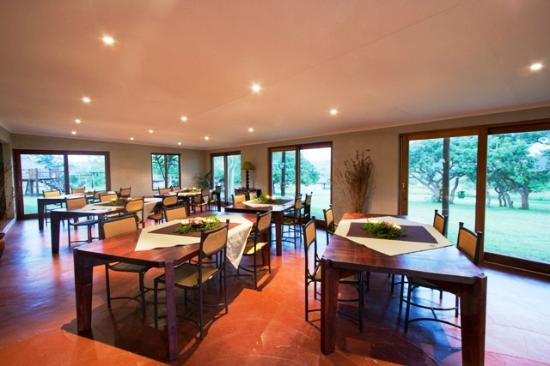 Zululand Safari Lodge: New Restaurant no longer weather dependent