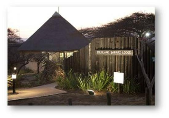 Zululand Safari Lodge: New Safari Lodge Entrance