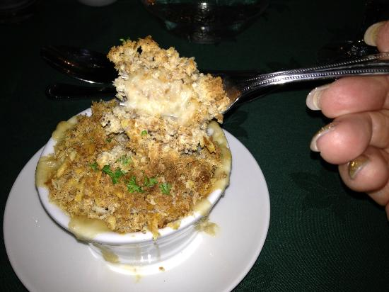 Fairwinds Hotel: Crab casserole