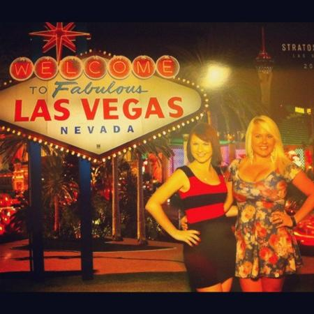 Stratosphere Hotel, Casino and Tower, BW Premier Collection: Fabulous girls, fabulous Las Vegas! lol