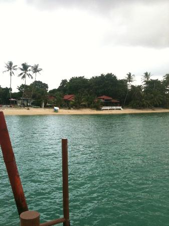 Punnpreeda Beach Resort: View of Punnpreeda from Pier